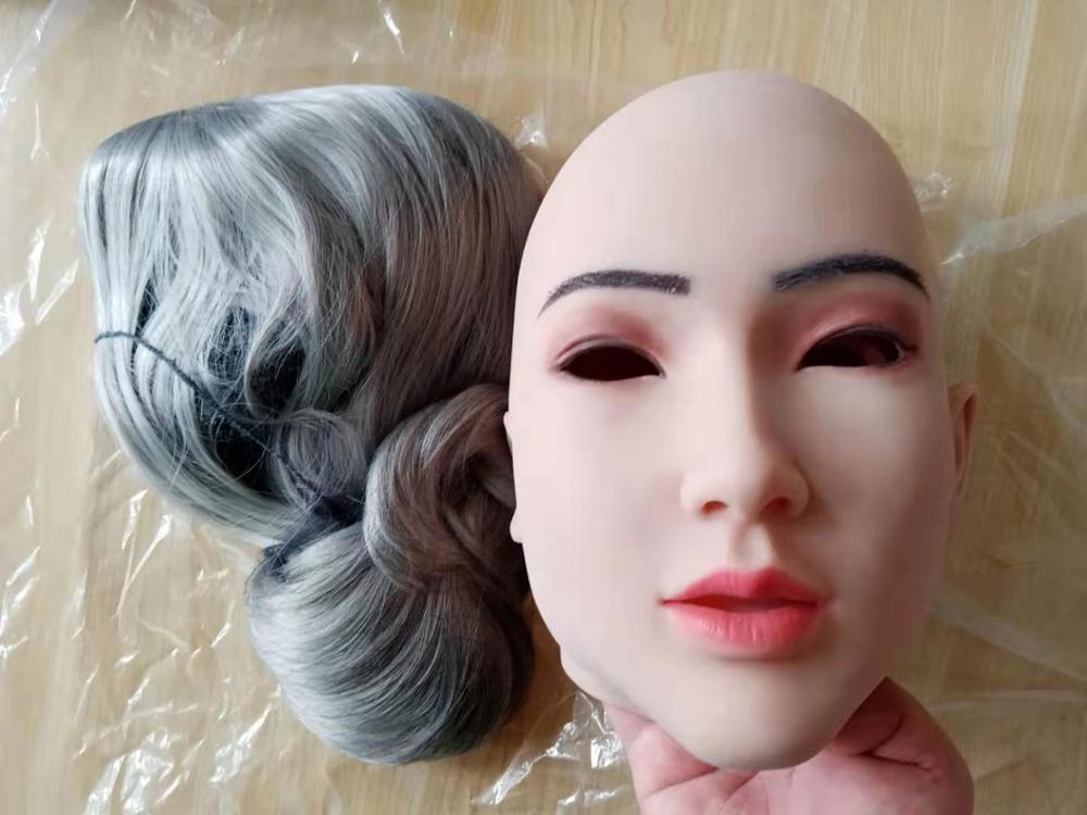 3G Kristen Face Mask Realistic Soft Silicone Female Mask for Masquerade Halloween Mask For Crossdresser Drag Queen Transgender