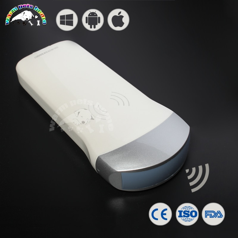 Full Digital Wireless Probe Mobile Phone Ultrasound 80 Elements Suit for Android iOS Windows System