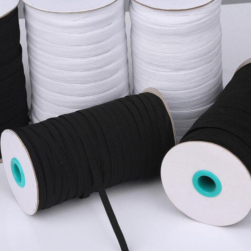 3/6/9/12 MM Elastic Band Multipurpose Sleeve Elastic Band Sewing Accessories Narrow Side Gummiband Cord Elastic Band For Mask