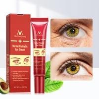 2pcs probiotic anti aging wrinkle eye cream remove dark circles puffiness lighten fine lines whitening moisturizing eye care