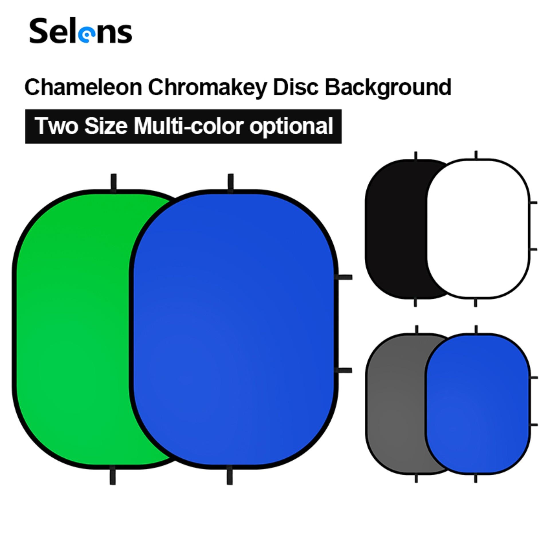التصوير خلفية لوحة المحمولة كروماكي الأخضر شاشة زرقاء مع حقيبة حمل Chromakey خلفية لالفيسبوك لايف يوتيوب