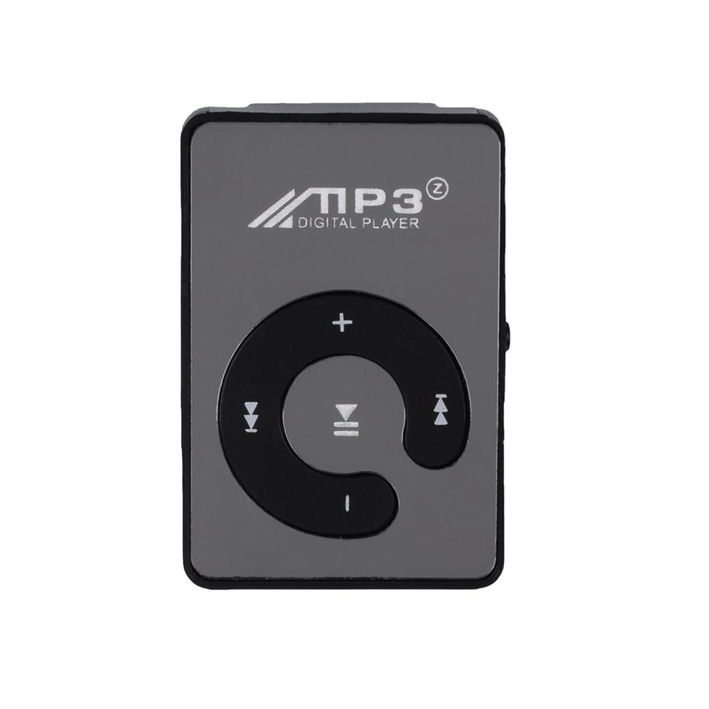 Mini Delicate Mp3 Key Clip Lavalier Type Music Player Mp3 Rechargeable With Cable Digital Music Play