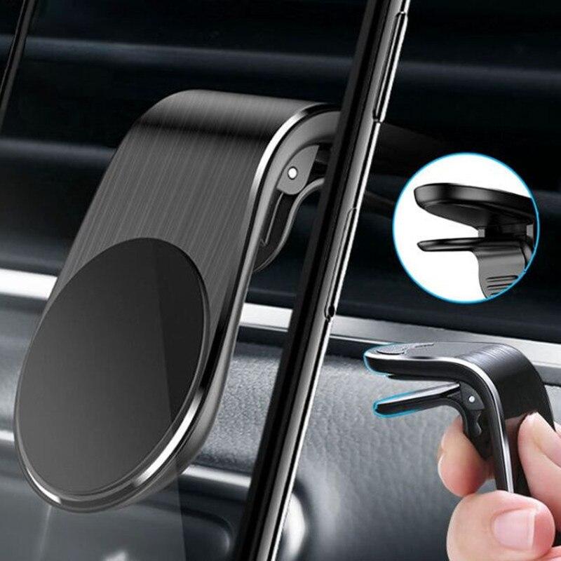 De Metal de soporte magnético de teléfono de coche para opel astra g h j f k insignia vectra c zafira b antara opel corsa