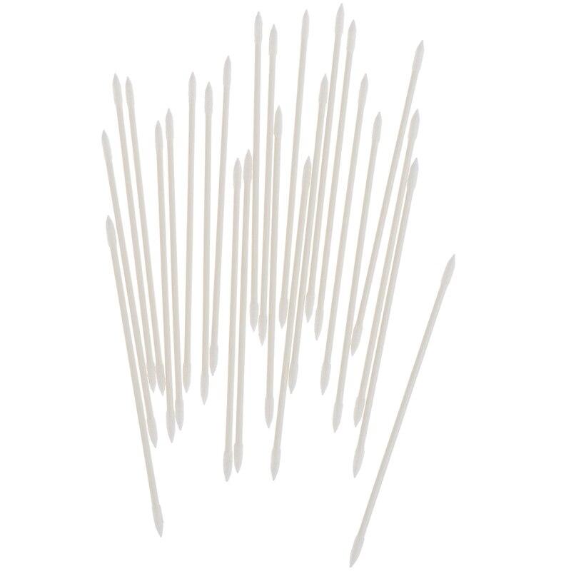 25 unidades/pacote fones de ouvido dicas fone de ouvido caso descartável vara ferramenta limpeza protetor algodão vara descartável ferramenta limpeza