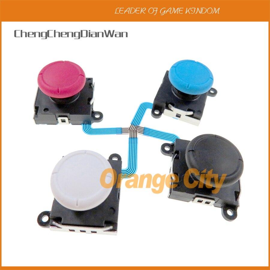Оригинальный 3D Аналоговый джойстик для пальца, сменный сенсор для переключателя, переключатель NS, части контроллера Joy Con