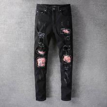 2021 New Designer Amiri Denim Jeans Holes Trousers Pants Biker Jeans HOMME Ripped Jeans COOLGUY Jean