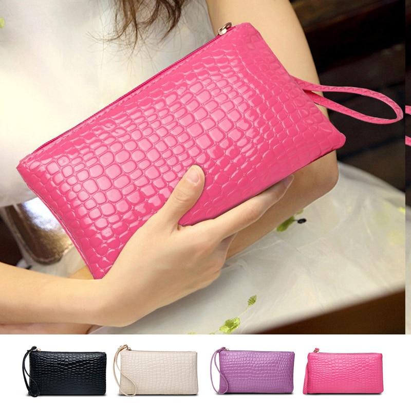 Women Wallet Long Fashion Zipper Clutch Hand Bag 2020 New Mobile Phone Bag Card Holder Coin Purse Th