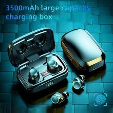 TWS Bluetooth 5.0 Earphones 3500mAh Charging Box Wireless Headphone 9D Stereo Sports Waterproof Earb