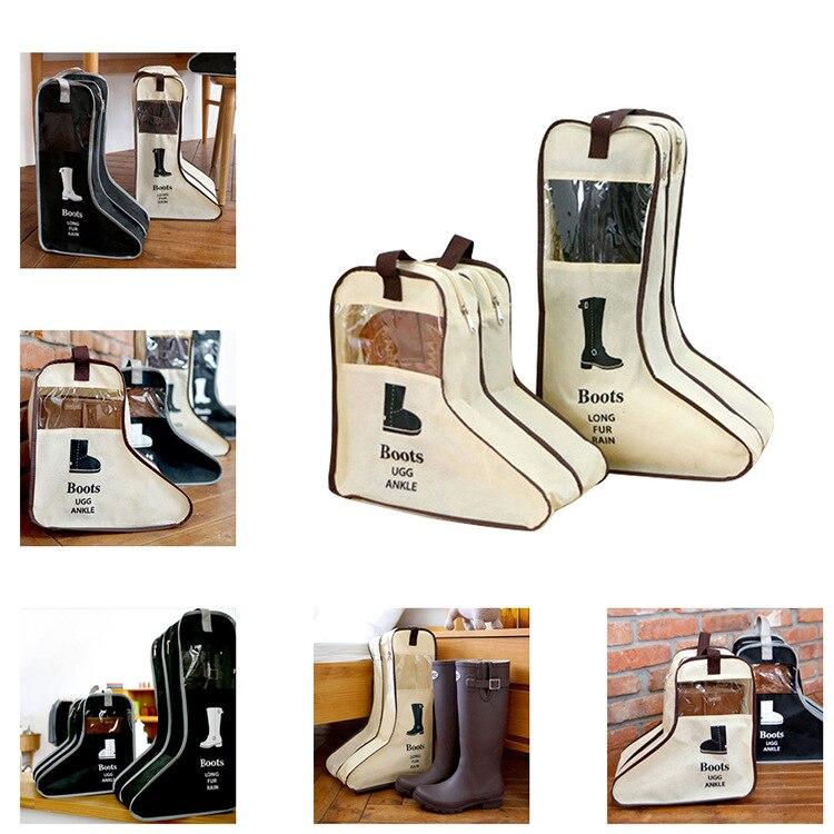 Корейская версия, дорожная сумка для обуви, чехол для домашней обуви, сумка для хранения обуви, визуальный пылезащитный чехол для обуви