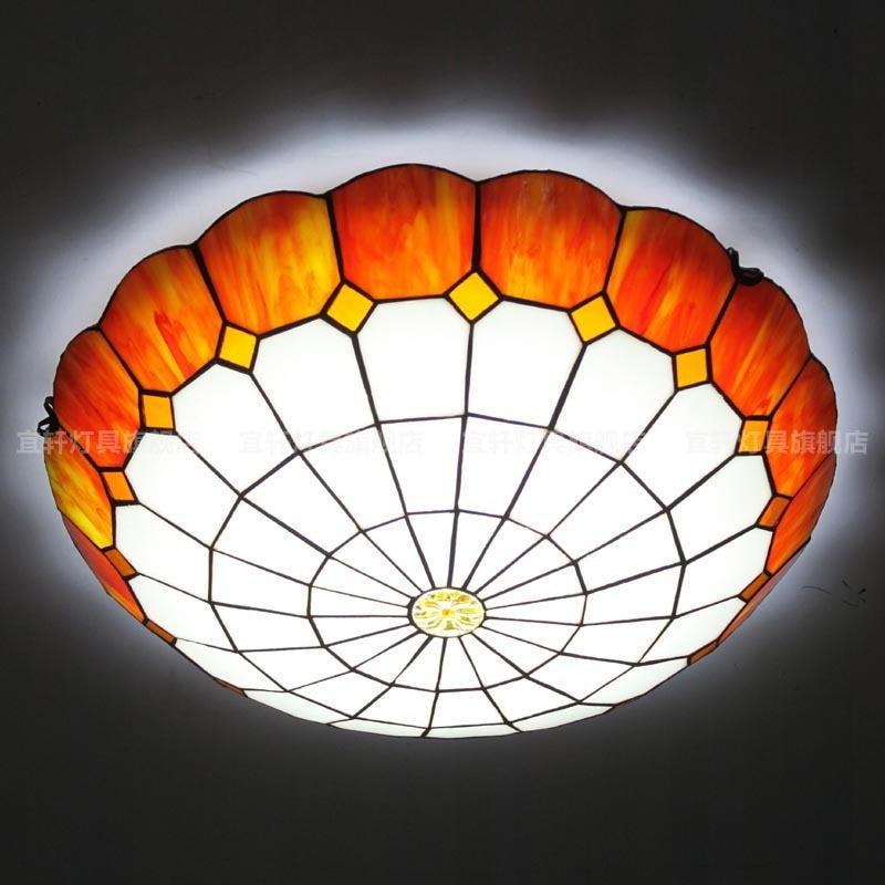 Yi Xuan moderno minimalista dormitorio luz de techo moda Mediterráneo pasillo balcón iluminación LED sala de estar lámpara