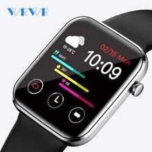 WRWR 2021 Smart Watch 1.69 inch Men Full Touch Fitness Tracker IP67 waterproof Smartwatch For Xiaomi