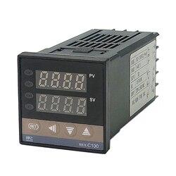 Venda superior rkc rex c100 digital pid controlador de temperatura relé saída 48*48 k tipo