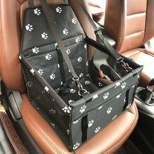 المحمولة كلب سيارة تستيفها tidie معلقة شبكة حقيبة مقاوم للماء القط جرو مقعد حامل آمن وسادة حصيرة