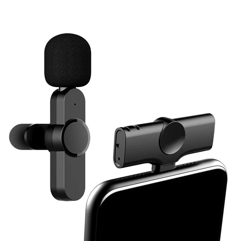 Lavalier Wireless Microphone Portable Audio Video Recording Studio Equipment Recording Mini Mic for Facebook Living Stream enlarge