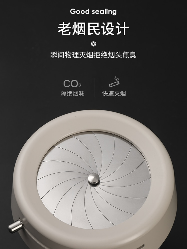 Ashtray Creative Car Personal Household Trendy Living Room Prevent Fly Ash with Lid Car Interior Car Special enlarge