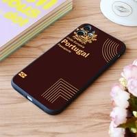 for iphone portugal passport print soft matt apple iphone case 6 7 8 11 12 plus pro x xr xs max se