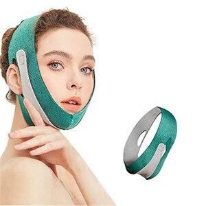 Double Chin Strap Facial Slimming Strap Pain-Free  Face Bandage Slim Lift Up Anti Wrinkle Mask Women Men Eliminate Sagging