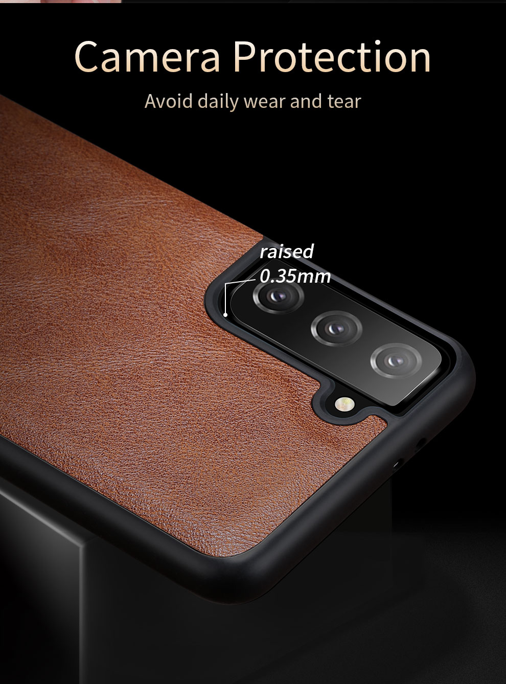 Galaxy S21 Plus Leather Case 7