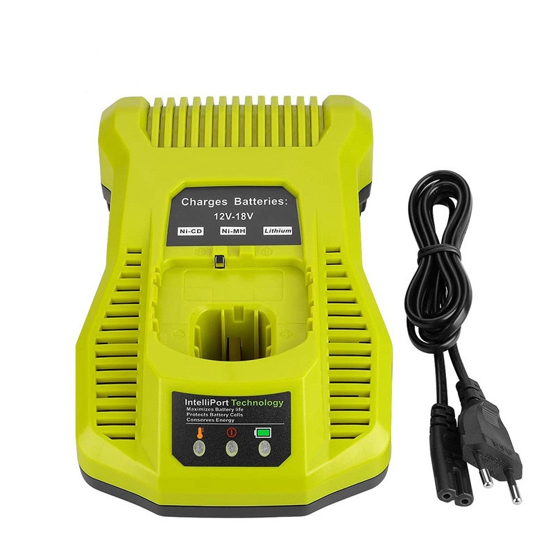 Зарядное устройство P117 для 3 А, 12 В, 14,4 В, 18 в, стандартный Ni-MH литий-ионный аккумулятор для Ryobi P102, P107, P108, BPL1820, P102 с USB входом 5 В, 110-240 В
