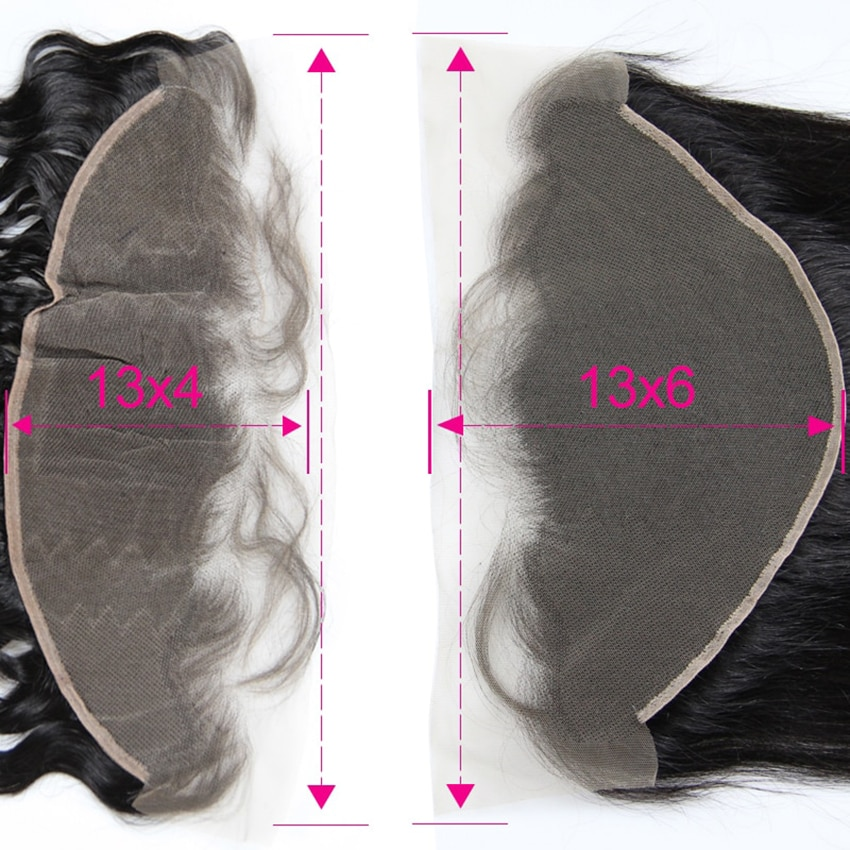 13x6 Lace Frontal Straight Ear to Ear Natural Color Brazilian Remy Human Hair 13X4 Lace Frontal With Baby Hair Wholesale Cheap