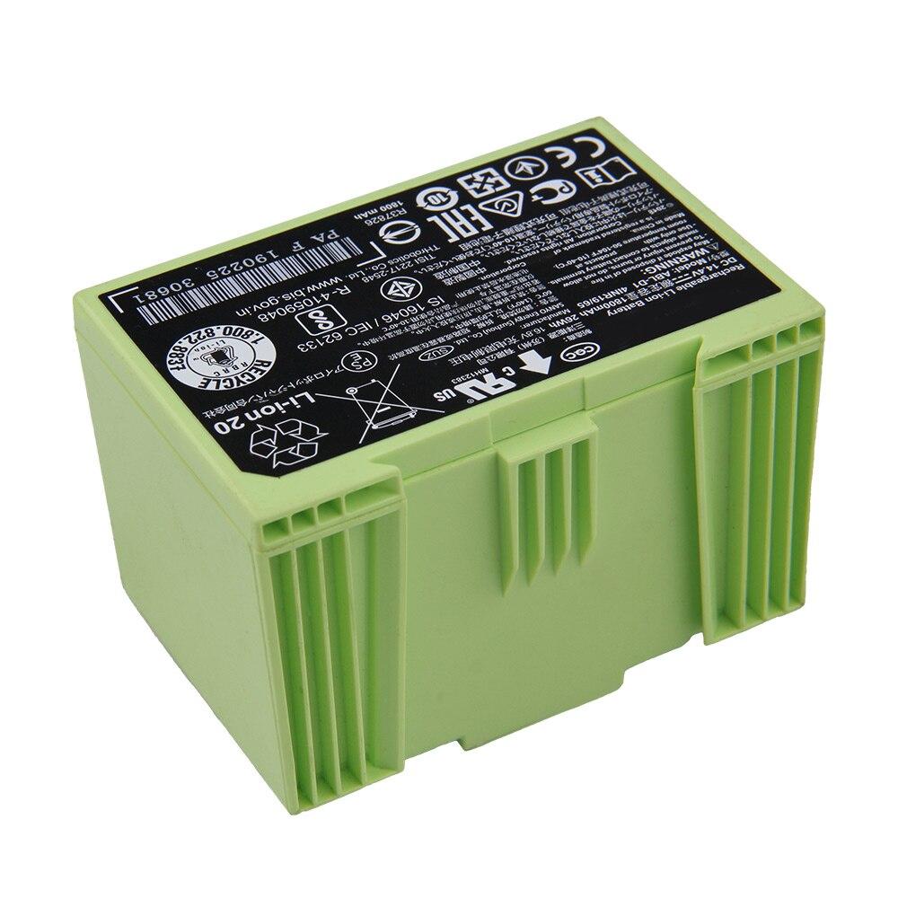 Original Replacement ABL-D1 Battery For iRobot Roomba i7 i7+ i8 e5 e6 e5150 i7550 i7558 e619820 Sweeping Robot Battery 1800mAh enlarge
