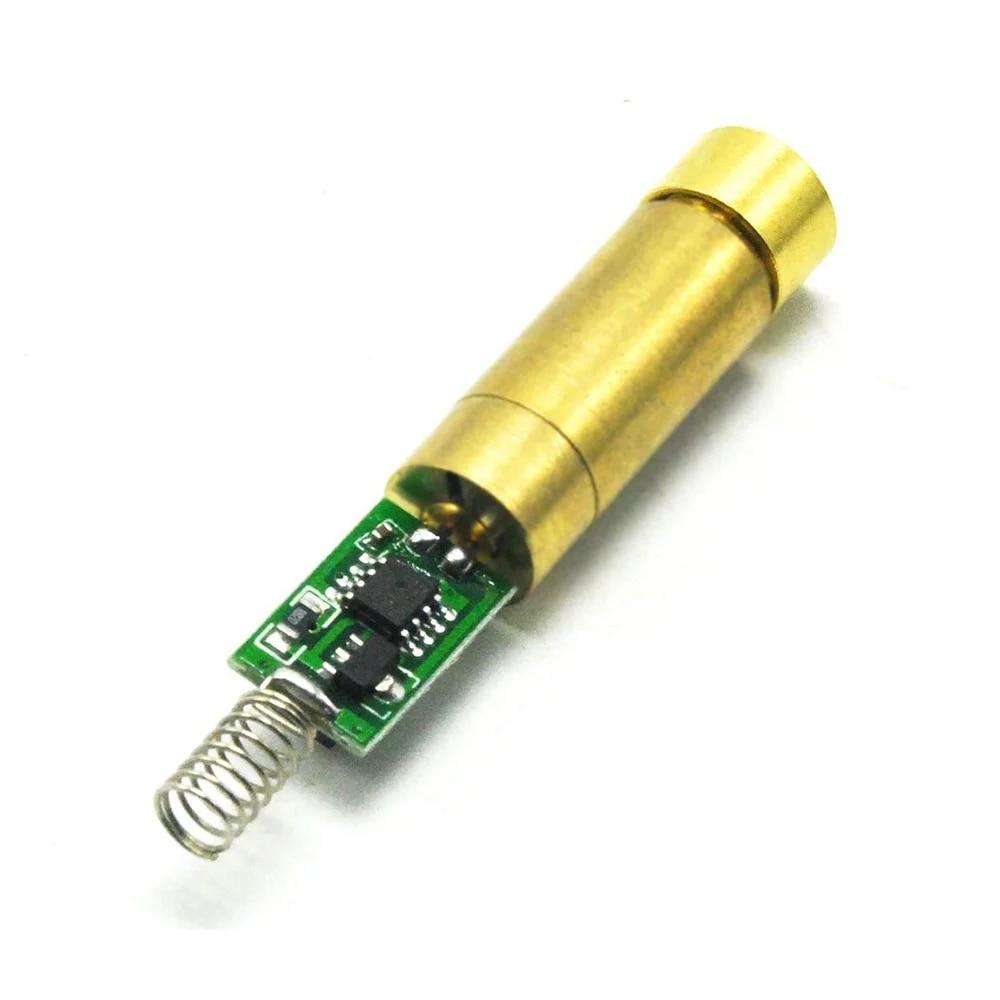 532 нм 10 мВт +латунь зеленый лазер диод модуль линия луч w +% 2F 3 В-3,7 В драйвер переключатель