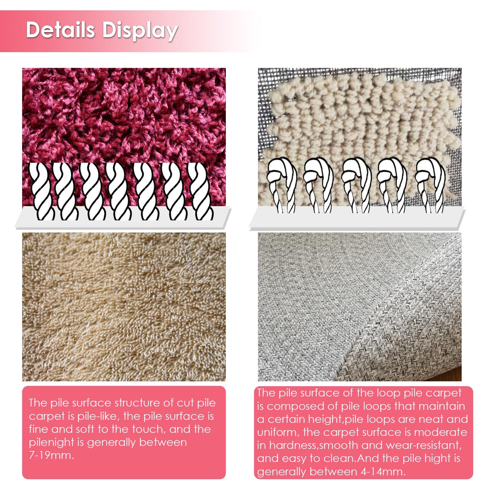 2 in 1 PinkTufting Gun Cut Pile and Loop Pile Electric Carpet RugGuns Carpet Weaving KnittingMachine for DIY, Knitting enlarge