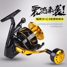 Spinning Jigging Reel New japanese made Lurekiller Saltist CW3000-10000 Spinning reel 10BB Alloy reel 35kgs drag power