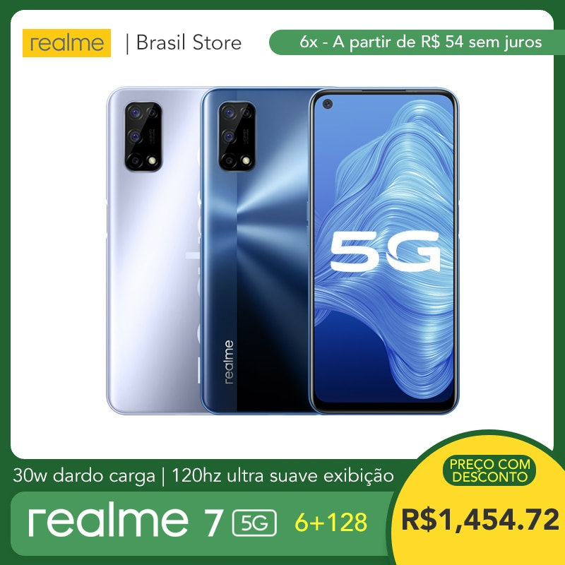 realme 7 5G 6GB RAM 128GB ROM - 30W Dart Charge | 5000mAh Massive Battery | 120Hz Ultra Smooth Displ