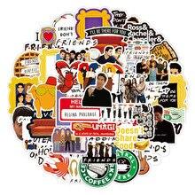 Pegatinas de serie de televisión Friends para monopatín DIY, pegatinas para guitarra, portátil, motocicleta, equipaje, pegatina de juguete clásica, juguetes para niños, 10/50 Uds.