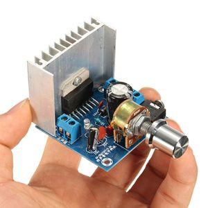 Плата аудиоусилителя TDA7297, модуль, двухканальные детали для набора «сделай сам», двухканальный цифровой усилитель 15 Вт + 15 Вт