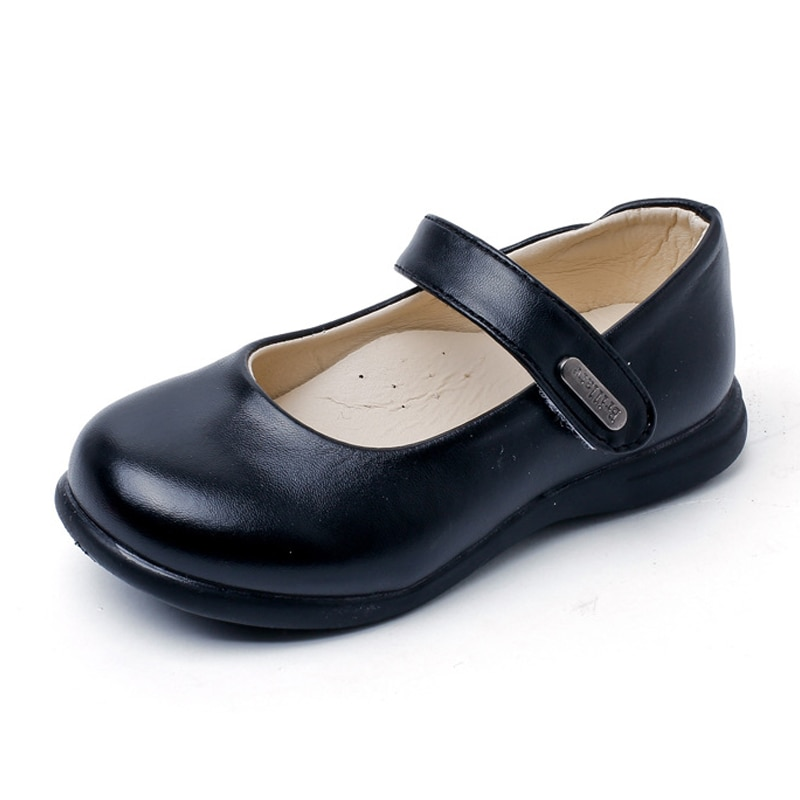 Kids Leather Shoes Toddler Girls Flats Fashion Princess Mary Jane Shoes Soft Party Wedding Formal School Shoes For Girls Baby