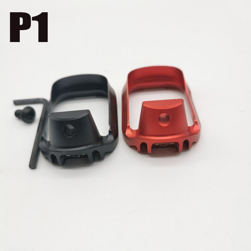 P1 CNC Базовая Подушка Mag Extension CS Game Gel Nall Toy переоборудование аксессуара Тактический обновленный материал
