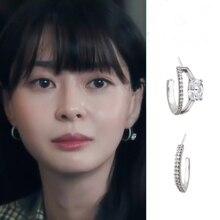Kwin نارا itaewin فئة كيم دا مي الأذن الدراما الكورية التلفزيون للنساء أقراط pendientes brincos حلية