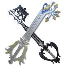 Kingdom Hearts Spada Arma Coltello Prop Keyblade Anime Cosplay 11 Sora Keyblade Coltello Samurai Spada Katana Espada Giocattolo per Teenager