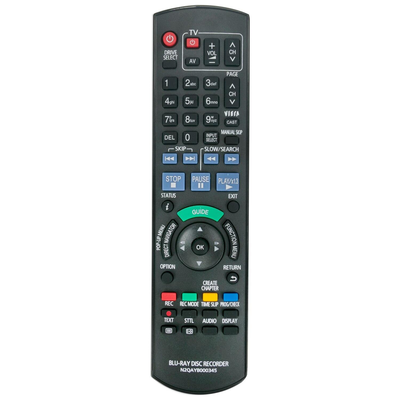 Nuevo N2QAYB000345 Control remoto para PANASONIC disco Blu-ray de BW750 BW850 DMR-BW750 DMR-BW850 DMR-BW750GL DMR-BW850GL