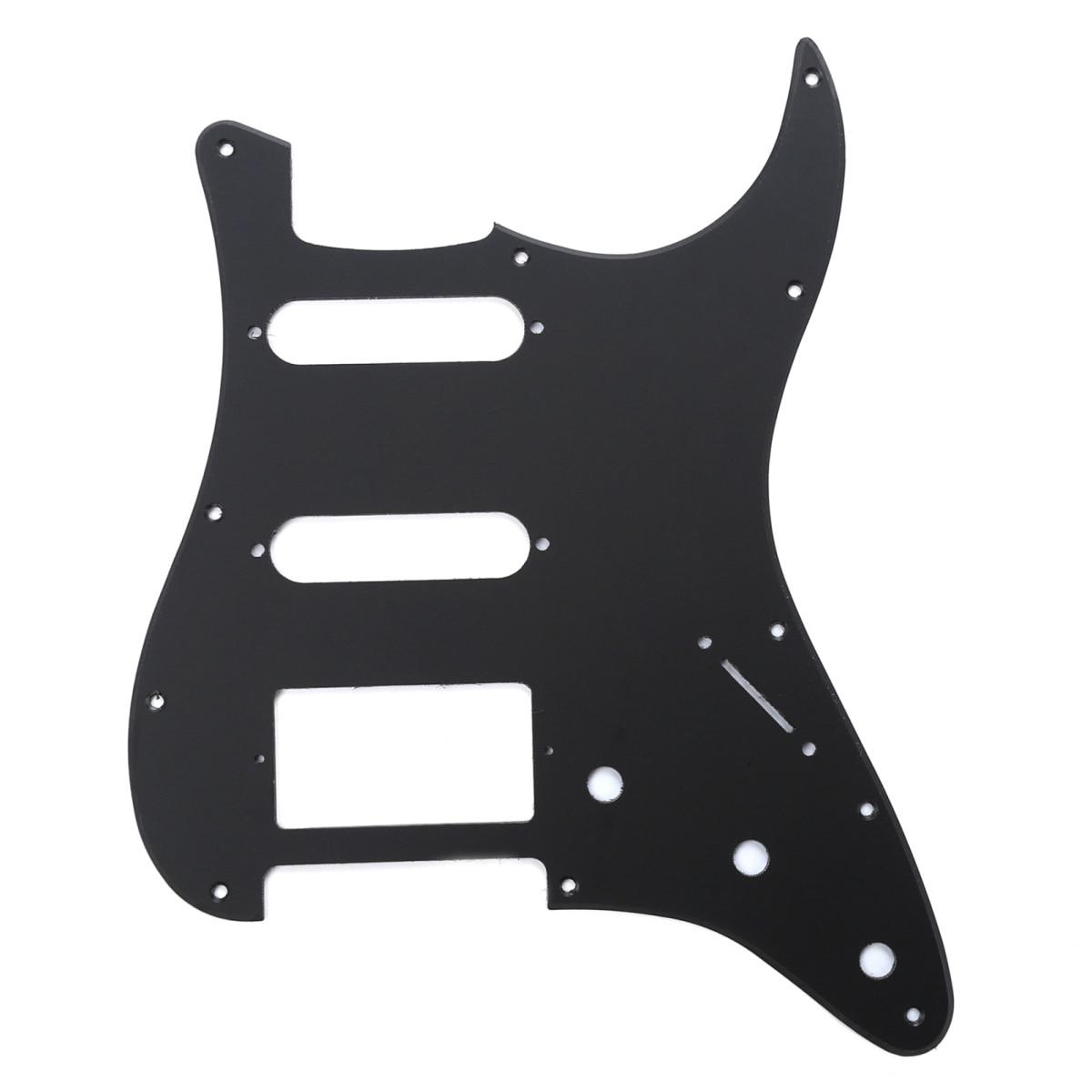 Musiclily HSS golpeador de guitarra de 11 orificios Strat para Fender USA/mexicana...