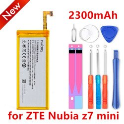 Novo 2300mah LI3823T43P6hA54236-H bateria para zte nubia z7 mini z7 mini lâmina nx507j s6 5.0 polegada g717c g718c bateria