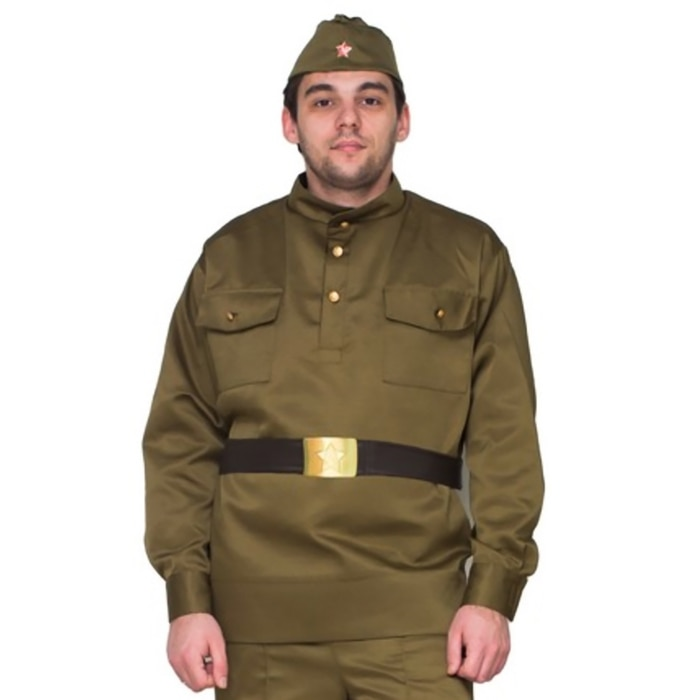 Гимнастёрка военная мужская, люкс