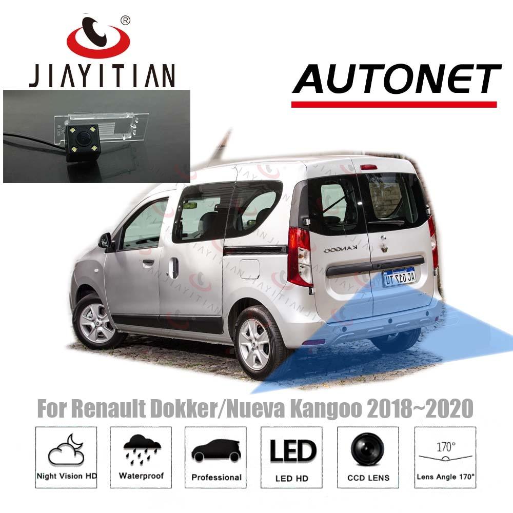 Cámara de visión trasera JIAYITIAN para Renault Dokker/Nueva Kangoo 2018 2019 2020/CCD/visión nocturna/cámara reversa de respaldo/cámara de aparcamiento