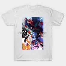 Men tshirt  Spiderverse   Spiderman Miles Morales   T Shirt Printed T-Shirt tees top
