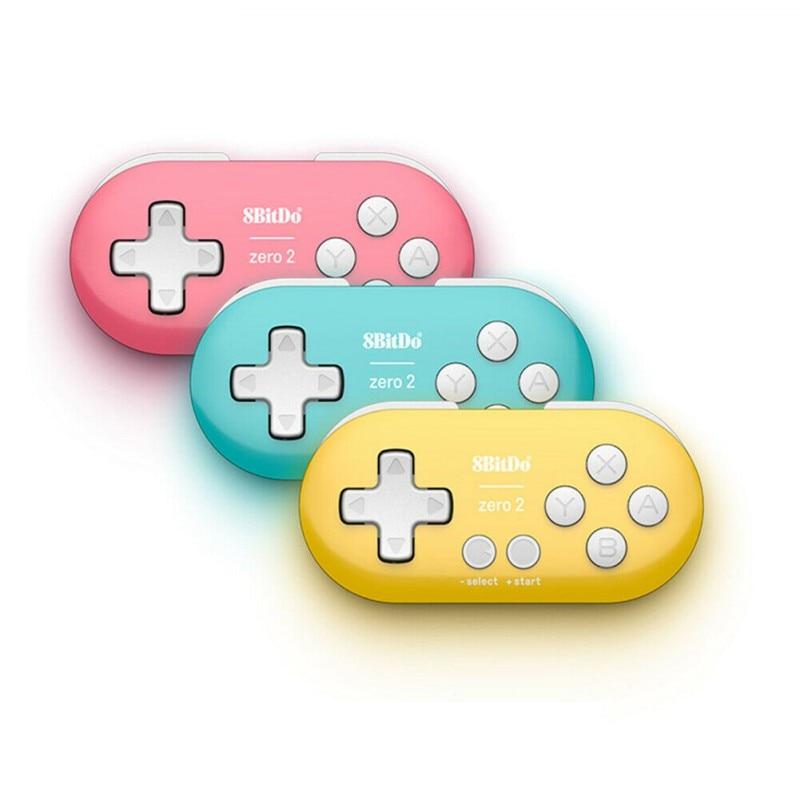Mando inalámbrico 8 Bitdo Zero2, Gamepad Bluetooth Para Mini Gamepads portátiles Para Nintendo Switch NS, Windows y Macos Android