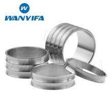 Wanyifa 5 10 15 20 25 30mm titane/Ti casque tige entretoise fourche rondelle capuchon pour vélo de route cyclisme Cycle