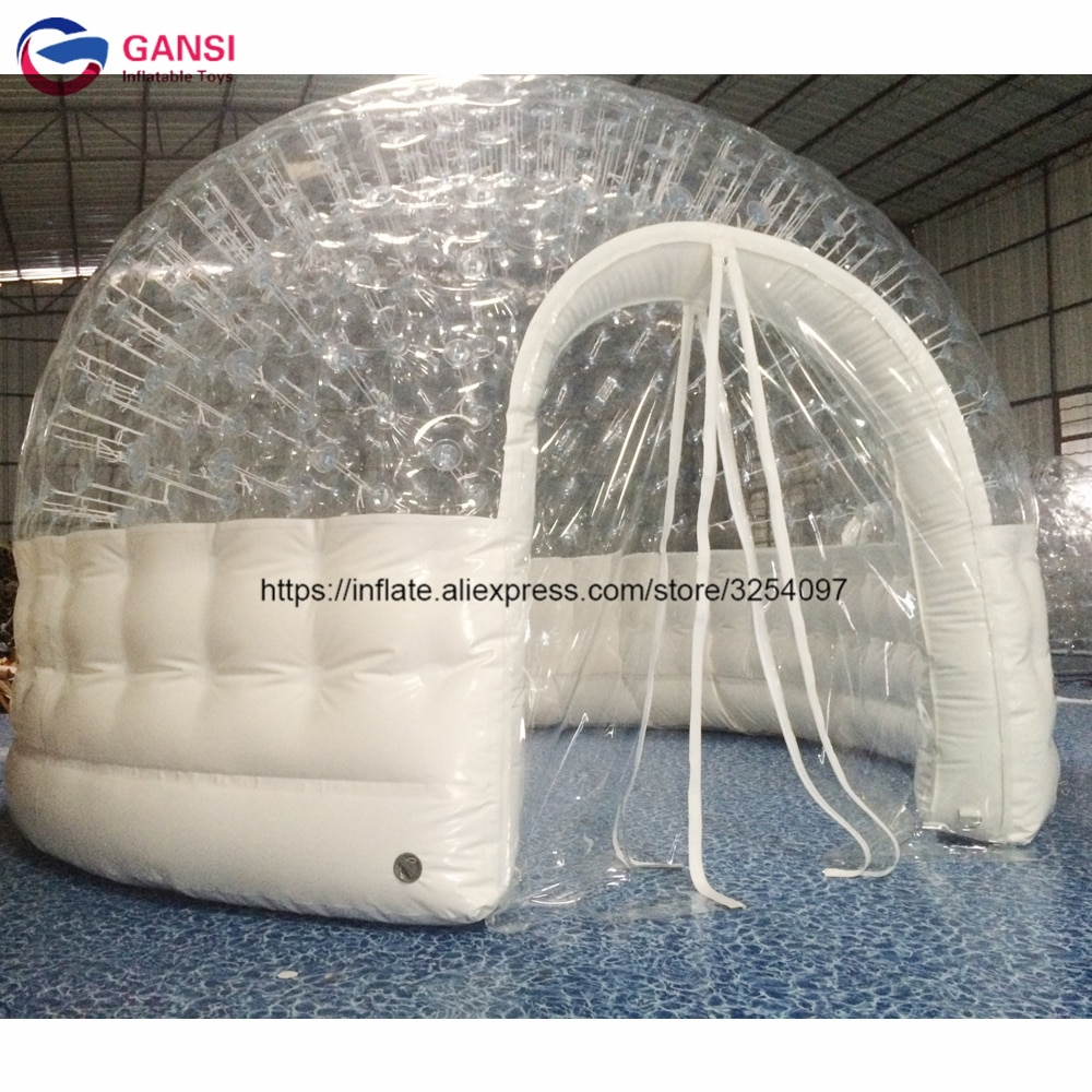 free shipping beautiful and romantic 10ft x 15ft 3m x 4 5m aluminum wedding party gazebo pop up tent event marquee awning Free shipping 3m diameter inflatable dome tent high quality inflatable trade show tent for event
