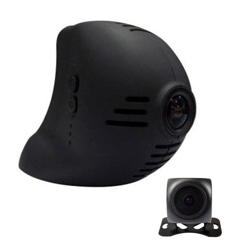 Para BMW Mini Cooper 2010, 2011, 2012, 2013 Dual lente opcional de coche wifi DVR grabador de vídeo dash cam Cámara