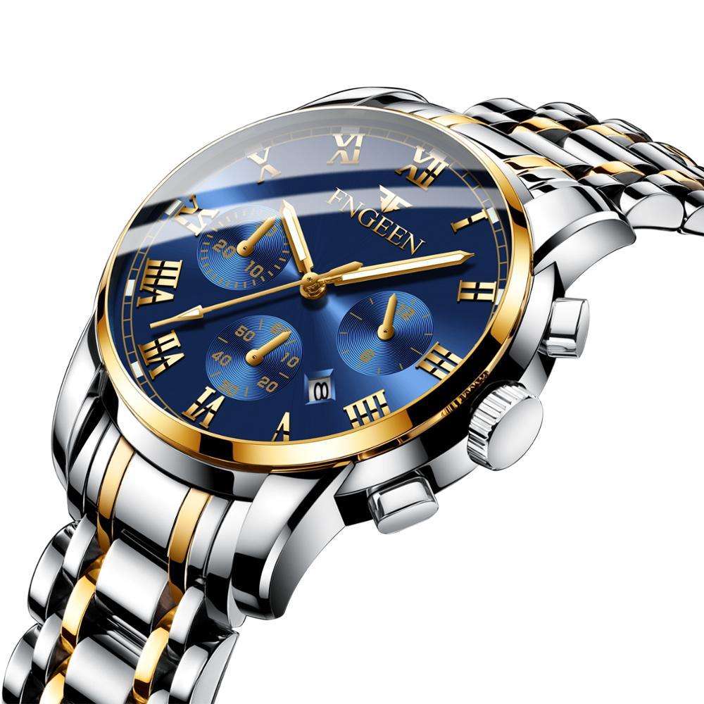 2021 Top Brand Luxury New Fashion Waterproof  Sports Watch Chronograph Quartz Watch Men Relogio Masculino