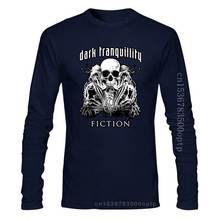 New Dark Tranquillity 'The Ultimate Rebellion' T Shirt Fashion Men T Shirt Free Shipping 032151