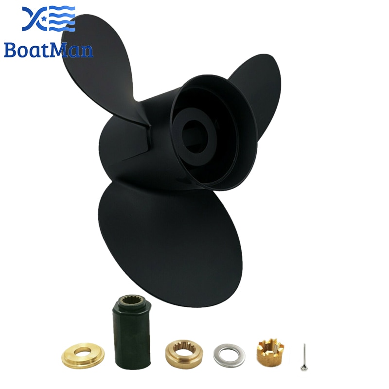 Boat Propeller 15x15 For Suzuki Outboard Motor 150HP 175HP 200HP 225HP Aluminum 15 Tooth Spline Engine Part Factory Outlet enlarge