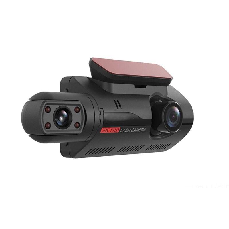 3-дюймовый IPS Автомобильный регистратор ночного видения, скрытый вождение, циклическая запись, обнаружение движения, дата, штамп, 110 градусов...