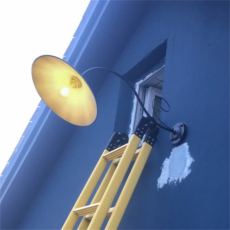 8M Wall Lamp Outdoor Classical Sconces Light Waterproof Horn Shape Home LED For Porch Villa enlarge